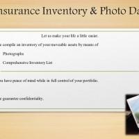 Insurance Inventory & Photo Data